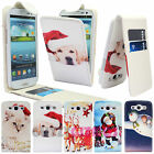CHRISTMAS LEATHER FLIP CASE COVER WALLET FOR SAMSUNG GALAXY S3 III i9300 / i9305