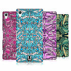 HEAD CASE DESIGNS ABSTRACT ALIEN PATTERNS HARD BACK CASE FOR SONY PHONES 2