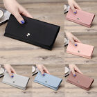 Women's Clutch Long Purse Leather Wallet Card Holder Handbag Phone Bag HOT