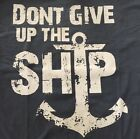 """BATTLE OF LAKE ERIE COMMODORE PERRY'S """"DONT GIVE UP THE SHIP"""" NAVY T SHIRT NEW"""