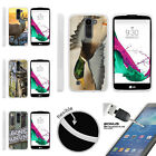 For LG K7 | LG Tribute 5 | LG Treasure TPU Case + Tempered Glass Hunting Outdoor