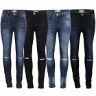 Ladies Ripped Denim Jeans Womens Pants Trousers Slim Fit Stretchable Designer