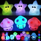 Cute Colorful Changing LED NightLight Decoration Bedroom Lamp Nightlight holiday