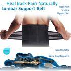 NEW Adjustable Lumbar Back Injury Brace Slipped Disc Support Pain Relief SFC