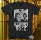 New Elvis Presley Mug Shot Jailhouse Rock Vintage Classic Mens T-Shirt