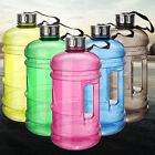 2.2L Big Large BPA Free Sport Gym Training Drink Water Bottle Cap Kettle Workout