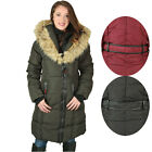 Canada Weather Gear Women's Long Faux Down Goose Puffer Jacket Coat Winter