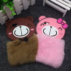 Cute 3D Smile Bear Cartoon Cover Soft Silicone Case For iPhone 6 6S 7 7Plus