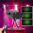 light box projector - R&G Mini Xmas Party Light Projector DJ Disco LED Stage Laser Lamp W/ Remote Box