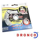 DRONCO U4 SUPERIOR 115MM STONE CUTTING DISC ANGLE GRINDERS BRICK CONCRETE