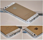 5x iPhone 5, 5s Bumper Side Body Button Deco Glitter Bling Color Sticker Skin