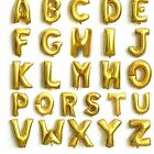 """16"""" Gloss Large Foil Letter Number Balloons Birthday Wedding Party Decoration"""