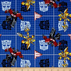 LICENSED HANSBRO TRANSFORMERS PATCH SEWING CRAFT QUILT FABRIC Free Oz Post
