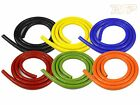 1M Silicone Vacuum Vac Boost Hose Pipe Tube Blue Black Green Orange Red Yellow