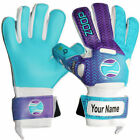 Zoop Pro High Quality Goalkeeper Hybrid Roll+Neg Finger Gloves Size 6/7/8/9/10