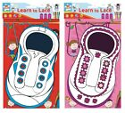 Learn To Tie Your Shoe Laces Childrens Educational Threading Activity Toy LACE