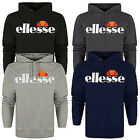 Mens New Ellesse Branded Overhead Logo Hoody Hooded S-XL