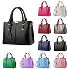 Black Womens Fashion Shoulder Handbags Bags CrossBody Long Strap Satchel Bag