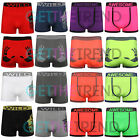 3 Pack Mens Bright Colour Boxers Mens Seamless Funny Cheeky Rude Boxer Shorts