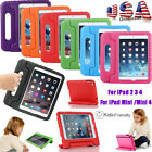 Kids Shock Proof EVA Safe Foam Handle Case Cover Stand For iPad 2 3 4 Mini 4 USA