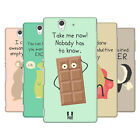 HEAD CASE DESIGNS LITTLE DOSES OF NONSENSE AND RANDOMNESS CASE FOR SONY XPERIA Z