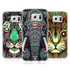 HEAD CASE DESIGNS AZTEC ANIMAL FACES 2 SOFT GEL CASE FOR SAMSUNG GALAXY S6
