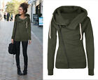 Women Fashion Winter Hooded Slim Coat Jacket Casual Warm Sportwear Outwear US