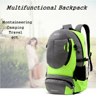 New 35L Men Women Backpack School Hiking Travel Fashion Sport Hiking Laptop Bag