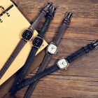 Fashion New Women PU Leather Band Quartz Analog Wrist Watch Vintage Watches