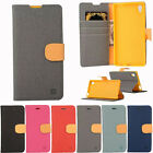 for Sony Xperia Magnetic Flip Card Holder PU Leather Wallet Case Stand Cover