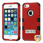For Apple iPhone 5/5S/SE Hybrid TUFF IMPACT Phone Case Hard Rugged Cover