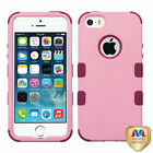 For Apple iPhone 5/5S/SE Hybrid TUFF IMPACT Phone Case Hard Rugged Cover <br/> IN-STOCK - FREE SHIPPING FROM THE USA - BEST SELLER!