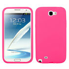 For Samsung Galaxy Note 2 N7100 Silicone Skin Rubber Soft Case Phone Cover