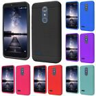 For ZTE Grand X Max 2 Kirk Zmax Pro Rugged Thick Silicone Grip Soft Case Cover