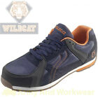 Wildcat Cheetah Leather Safety Sports Trainer Steel Toe Cap & Composite Midsole
