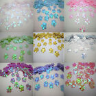 100Pc 13mm Shiny Flowers Loose Sequins Paillettes Sewing Wedding Many Pick DIY