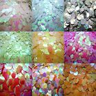 Wholesale 120pcs shiny Round Loose Sequins Paillettes Sewing Wedding 10mm