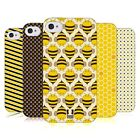 HEAD CASE DESIGNS BUSY BEE PATTERNS SOFT GEL CASE FOR APPLE iPHONE 4 4S