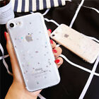 Shinning Sleek Bling Glitter Soft Silicone TPU Case Cover for iPhone 6 6s 7 Plus