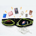 NEW Men Women Running Belt Zipper Pockets Phone Holder for Gym Exercise Workout