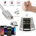 Magnetic Lighting Micro USB Charging Cable with 2 Adapters for Android iPhone