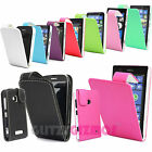 STYLISH PU LEATHER MAGNETIC FLIP POUCH CASE COVER FOR VARIOUS NOKIA LUMIA SERIES