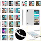 For LG X Power | K6P Slim Fitted Flexible TPU Case Designs with Stylus Pen