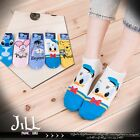 Japan lolita cartoon fantasy household mascot face ankle socks【JMA7042】