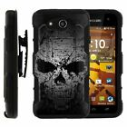 For Kyocera Hydro Wave C6740 | Air C6745 Two layer Shock Impact Kickstand Case