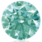 4.28ct VVS1/10.75mm BLUE WHITE COLOR ROUND CUT LOOSE REAL MOISSANITE FOR RING &