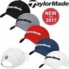 TaylorMade 2017 Performance Seeker Hat Structured Mens Golf Cap-Adjustable