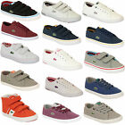 Boys Girls LACOSTE Trainers Kids Chunky Pumps Shoes Lace Up Velcro Youth Toddler