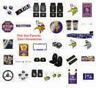 New NFL Minnesota Vikings Pick Your Gear / Car Accessories Official Licensed $8.95 USD on eBay