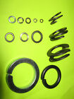 SPRING WASHERS SINGLE & DOUBLE COIL 3MM TO 32MM STEEL